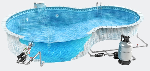 Гидроизоляция бассейна в Великом Новгороде