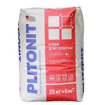 Плиточный клей Плитонит